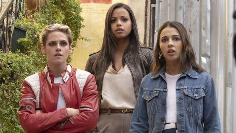 Kristen Stewart, Ella Balinska and Naomi Scott in 'Charlie's Angels.'