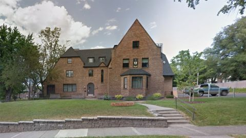 Emergency responders were called to the fraternity house on Tuesday morning.