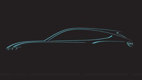 Ford provided this teaser image of the crossover SUV before Sunday's launch.