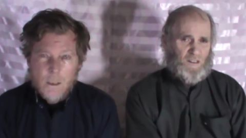 Australian citizen Timothy Weeks (left) and American citizen Kevin King were recently released in a prisoner exchange with the Taliban.