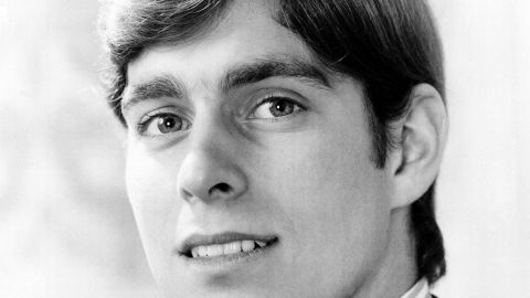 Prince Andrew is photographed on his 18th birthday in 1978.