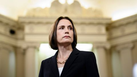 Fiona Hill, the former top Russia expert on the National Security Council, arrives to testify during the House Intelligence Committee hearing as part of the impeachment inquiry into US President Donald Trump on Capitol Hill in Washington,DC on November 21, 2019. (Photo by Brendan Smialowski / AFP) (Photo by BRENDAN SMIALOWSKI/AFP via Getty Images)