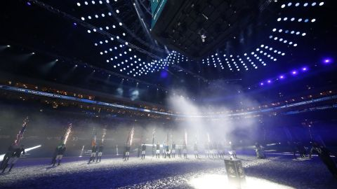 <strong>Prague: </strong>The season champions walk into the O2 arena ahead of the Longines Global Champions Tour Super Grand Prix at the GC Prague Playoffs.<strong>  </strong>