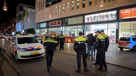 The stabbing took place at the Grote Marktstraat, one of the main shopping streets near the center of The Hague.
