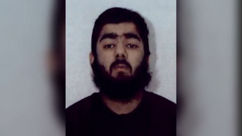 Police say Usman Khan, 28, is the suspect in Friday's attack in London.