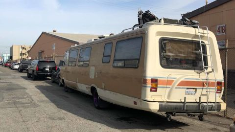 RVs, like Sharhonda Beavers', are a common site in many California cities, including San Francisco.