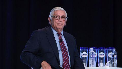 NBA Commissioner Emeritus David J. Stern