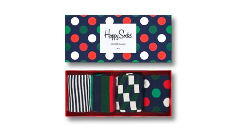 """<a href=""""https://www.happysocks.com/us/holiday-big-dot-gift-box-4.html"""" target=""""_blank"""" target=""""_blank""""><strong>Happy Socks Holiday Big Dot Gift Box ($48; happysocks.com)</strong></a><br />"""