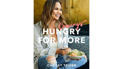 """<a href=""""https://amzn.to/2RVH9J6"""" target=""""_blank"""" target=""""_blank""""><strong>""""Cravings: Hungry for More"""" by Chrissy Teigen ($20.69; amazon.com)  </strong></a><br />"""