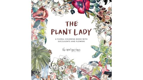 """<a href=""""https://amzn.to/2RZOmrA"""" target=""""_blank"""" target=""""_blank""""><strong>""""The Plant Lady: A Floral Coloring Book"""" ($11.69; amazon.com) </strong></a><br />"""