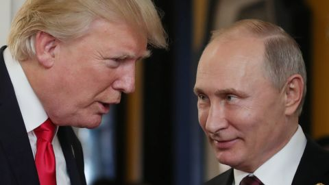 """US President Donald Trump's impeachment was based on """"made-up reasons,"""" according to Putin."""