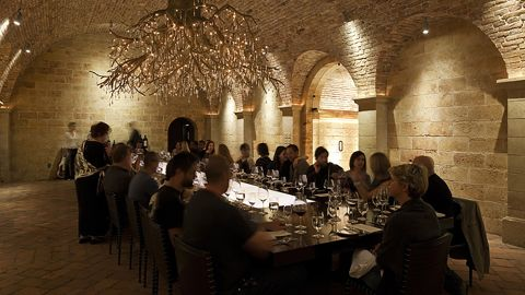 The tasting room at Hall Wines. The room was brought up in the debate on Thursday December 19, because Pete Buttigieg held a closed fundraiser there.