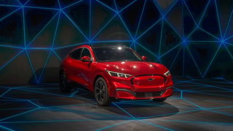 The Mustang Mach-E could be the most serious Tesla competitor yet.