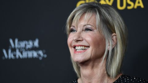 Olivia Newton-John is named a Dame Commander of the Order of the British Empire.