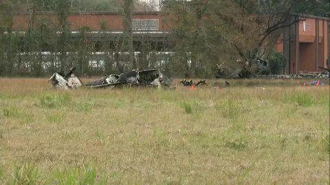 A plane crash in Lafayette, Louisiana, killed five people on board.