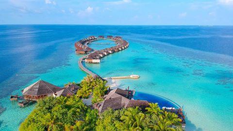 Lily Beach Resort & Spa on Huvahendhoo Island, Maldives