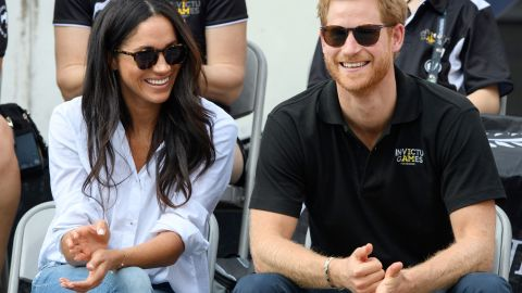 Meghan and Harry made their first public appearance as a couple at the Invictus Games in Toronto in September 2017. The pair were introduced in July 2016 by mutual friends in London.