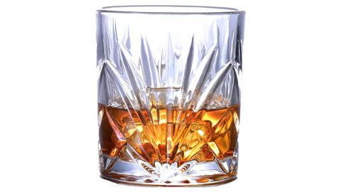 10-Ounce Crystal Whiskey Glasses, Set of 4