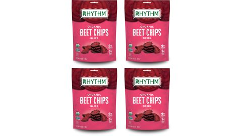 Rhythm Superfoods Beet Chips, 4-Pack