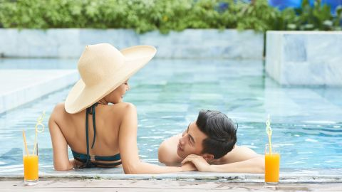 Move points from the Citi Rewards+ to one of the premium Citi ThankYou cards and redeem them for a future vacation getaway.
