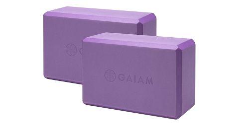 Gaiam Essentials Yoga Block, Set of 2