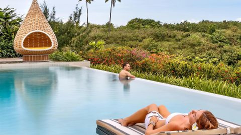 Enjoy elite privileges with an IHG credit card at properties like the InterContinental Fiji Golf Resort & Spa.