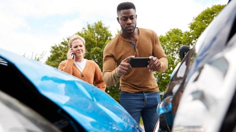 You'll get primary car rental insurance with the Chase Sapphire Preferred.