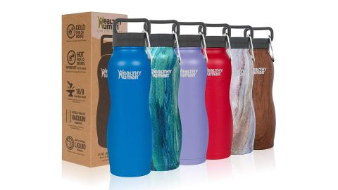 Healthy Human 21-Ounce Water Bottle Curve