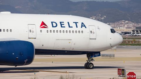 The Delta Gold Amex credit card offers a first checked bag free on all Delta flights.