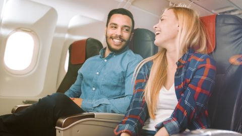 Use your Amex Platinum bonus to score a pair of domestic airline tickets.