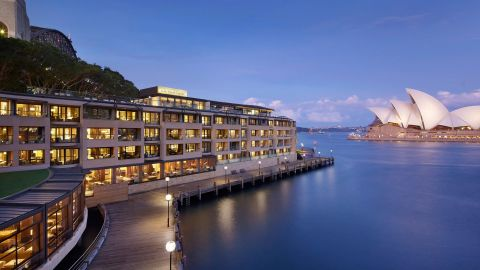 Stay at the Park Hyatt Sydney using points earned with the World of Hyatt credit card.