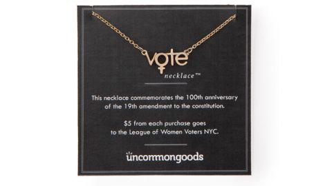 Uncommon Goods The Vote Necklace