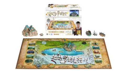 Hogwarts 4D puzzle