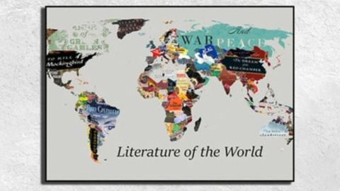 Literature of the World Map