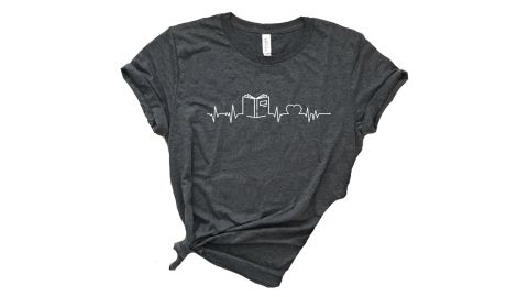 Book Heartbeat Shirt