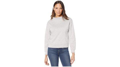 Alternative Apparel Mock Turtleneck Pullover in Cotton Modal Fleece
