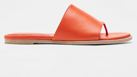 Eileen Fisher Edge Leather Slide