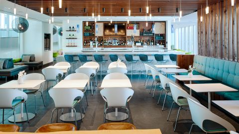 The Amex Centurion Lounge in Philadelphia is the place to be while waiting for your flight.