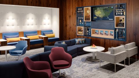 The Amex Centurion Lounge in Phoenix shares space with the also-new Escape Lounge.