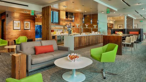 The Amex Centurion Lounge in Seattle is just one of the 14 lounges in the network.