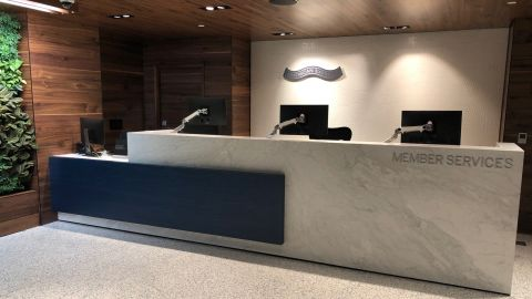 Use the Delta Reserve credit card to gain entry to the Amex Centurion Lounge at LAX.