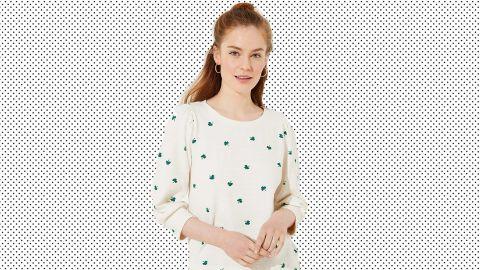 Ann Taylor Loft Shamrock Sweatshirt