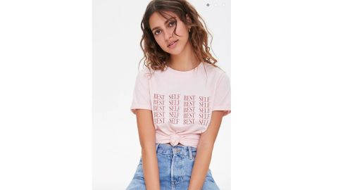 Forever 21 Best Self Graphic Tee