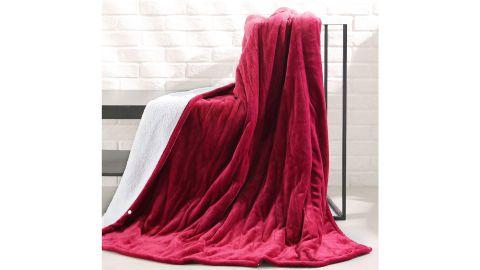 MaxKare Electric Blanket Heated Throw