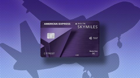 The Delta Reserve credit card from American Express.