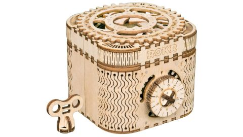 Robotime 3D Wooden Treasure Box Puzzle Kit