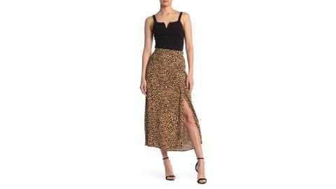 Elodie Print Midi Skirt