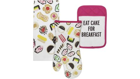 Kate Spade Kitchen Towel, Oven Mitt, Pot Holder Set