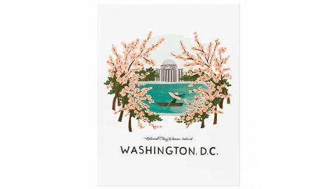 Rifle Paper Company Washington Cherry Blossom Print