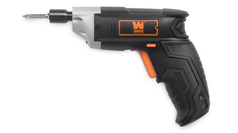Lithium-Ion Cordless Electric Screwdriver with Bits